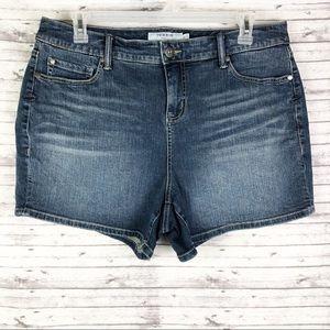 Torrid Jeans Shorts High Rise Denim Size 18